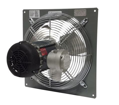 explosion proof exhaust fan canarm p16 4 16 quot explosion proof panel mount exhaust fan