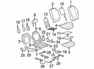 Chevrolet Malibu Seat Cushion Spring  Driver Seat  Seat