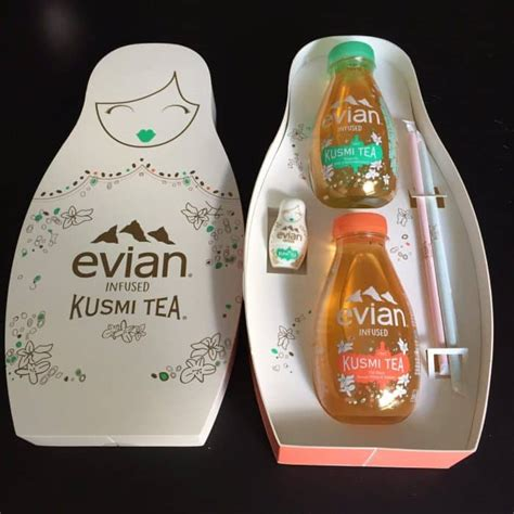 kusmi tea siege social evian et kusmi tea proposent une nouvelle boisson food