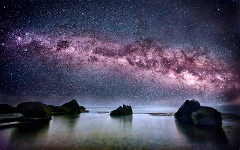 Milky Way Viewed Australia Wallpaper