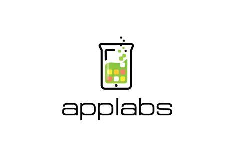 sold appslabsbeaker science logo design logo cowboy