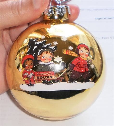 Campbell Soup Christmas Ornaments