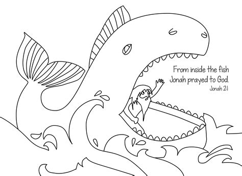 jonah coloring page   christian coloring