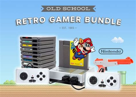 Play Old School With The Retro Nintendo Gamer Bundle