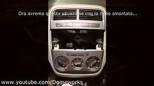 Smontare Console centrale (Clima, autoradio, bocchette aria) Fiat Grande Punto Tutorial YouTube