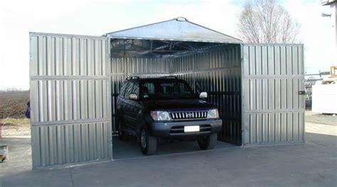 box auto lamiera zincata box auto prefabbricato in lamiera zincata componibile a