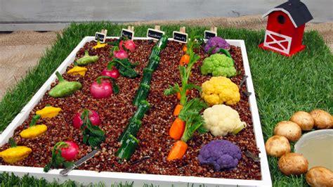 tiny vegetables recipe tiny veggie garden crudite cbc life