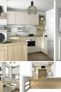 Idée Aménagement Petite Cuisine : comment decorer une cuisine ouverte petite cuisine avant ~ Dailycaller-alerts.com Idées de Décoration