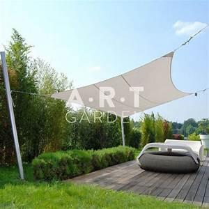 Voile D Ombrage Rectangulaire : une superbe voile d 39 ombrage design pour votre jardin umbrosa ~ Dailycaller-alerts.com Idées de Décoration