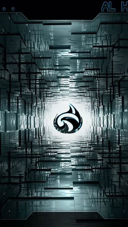 Hacker Mobile Wallpapers Technology Phone Abstract Tunnel