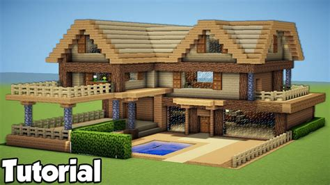 How To Build A Large Wooden House
