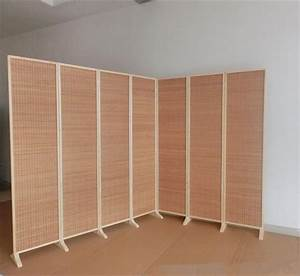 Wide And Large Decorative Freestanding Woven Bamboo 7
