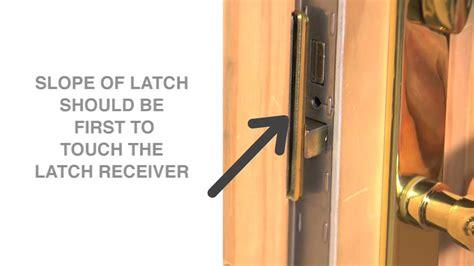 Andersen Patio Door Lock Adjustment by How To Change The Handing Of The Latch On An Andersen