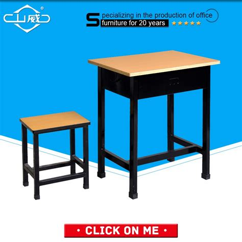 2016 morden design student desk and chair school furniture