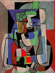 100 Paintings By Pablo Picasso | The Cubist Portraits ...