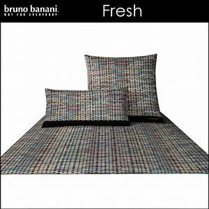 Bruno Banani Bettwäsche : bruno banani mako satin bettw sche fresh sand schwarz ~ Watch28wear.com Haus und Dekorationen