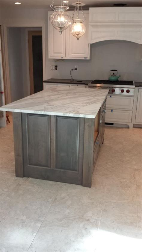 image result  grey stained oak cabinets house