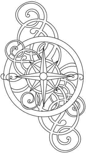 Free Printable Coloring Pages | Compass tattoo design, Coloring pages, Compass tattoo