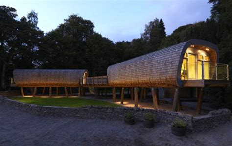 Solar Powered Treehouse Classrooms Unveiled In The Uk