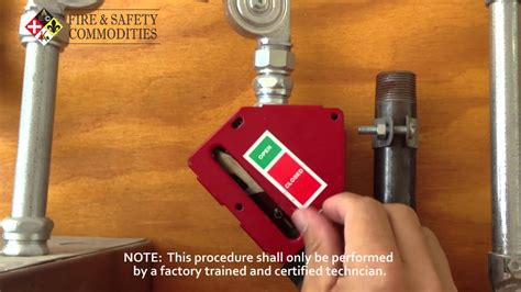 Kitchen Gas Valve by How To Reset An Ansul Gas Valve