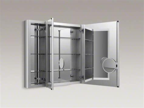 kohler verdera medicine cabinet kohler verdera tm 40 quot w x 30 quot h aluminum medicine cabinet