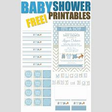 15 Free Baby Shower Printables  Pretty My Party  Party Ideas