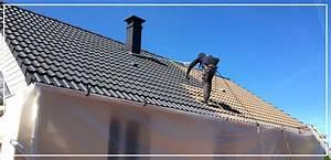 Demoussage Toiture Ardoise : nettoyage toiture lens entretien tuiles ardoise bac ~ Premium-room.com Idées de Décoration