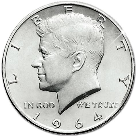 kennedy half dollar 1964 collectible coins of america 1964 kennedy half dollar the danbury mint