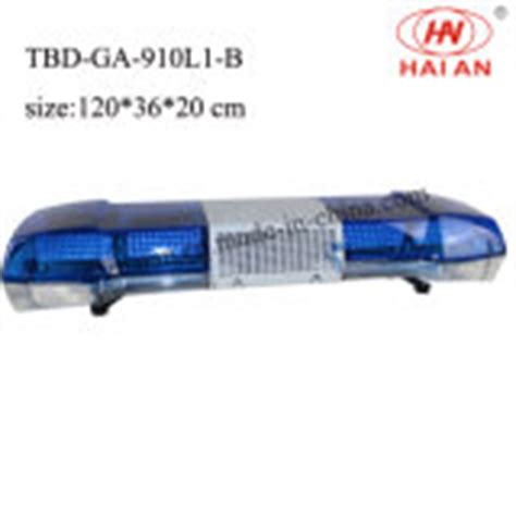 china blue dome led emergency warning lightbar tbd