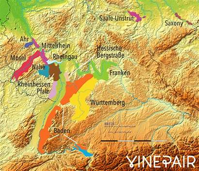 Wine Relief Regions Animated Europe Maps Map