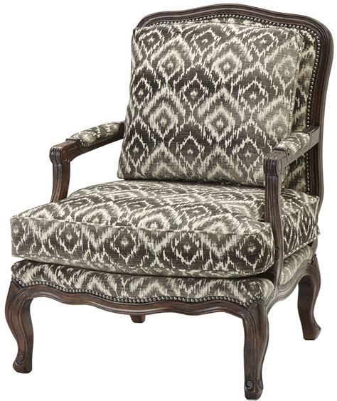 traditional upholstered arm chair