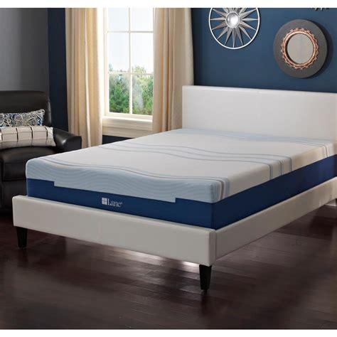 lane   full latex gel foam mattress hddb