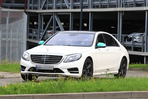 Spyshots 2020 Mercedes Sclass W223 Mule Spied For The