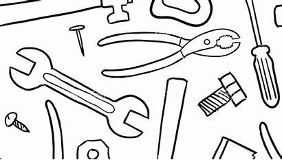 Coloring Tools Pages Tool Utensils Kitchen Box