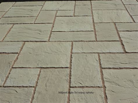 10 sq meters 3 size concrete patio paving slab 600 x 600
