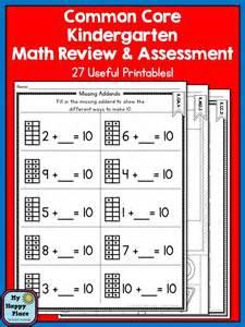 Common Core Kindergarten Math Worksheets Printable