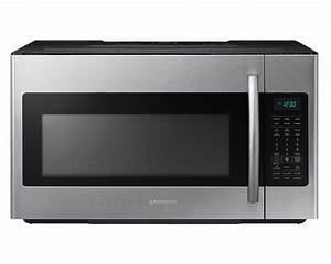 Samsung Me18h704sfs 1 8 Cu Ft  Over-the-range Microwave W   Sensor Cooking