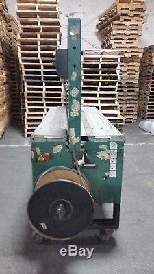 signode box case strapping machine model lb industrial banding machine