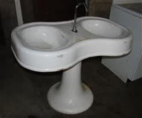 Rare Double Bowl Barber Shop Sink  All Things