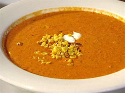 cream  roasted red bell pepper soup  roasted sweet