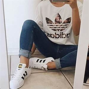 30 Cute Outfits with Adidas Shoes for Girls to try this Year