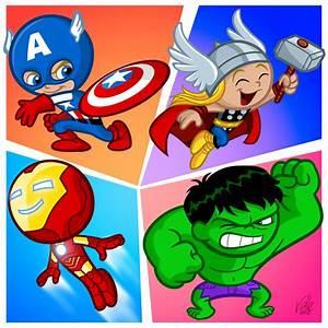 The Little Avengers by Fabvalle on DeviantArt