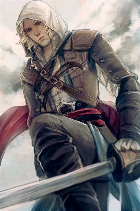 Edward Kenway By Snowy On Deviantart