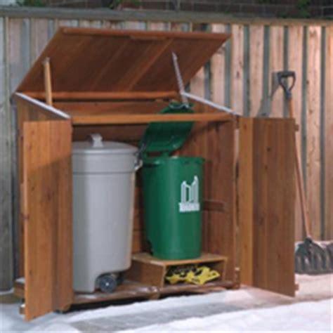 outdoor garbage storage outdoor wooden garbage can storage bin provide attractive 1292