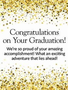 So Proud of You! Graduation Card | Birthday & Greeting ...