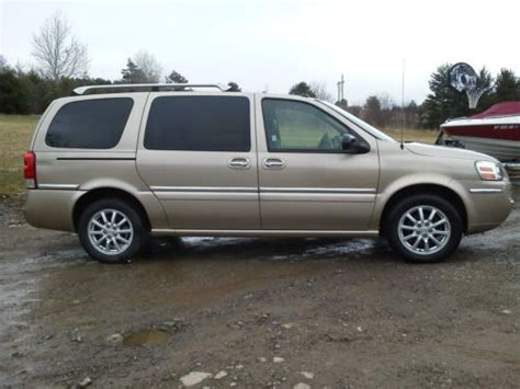 Buick Terraza Cxl by Purchase Used 2005 Buick Terraza Cxl Loaded Leather Dvd