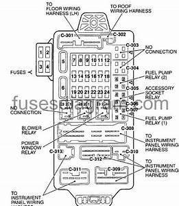 2002 Chrysler Sebring Fuse Box Diagram