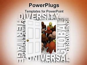 best powerpoint template a door opening to people of With diversity powerpoint templates free
