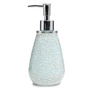 wilko mosaic soap dispenser aqua deal at wilko offer