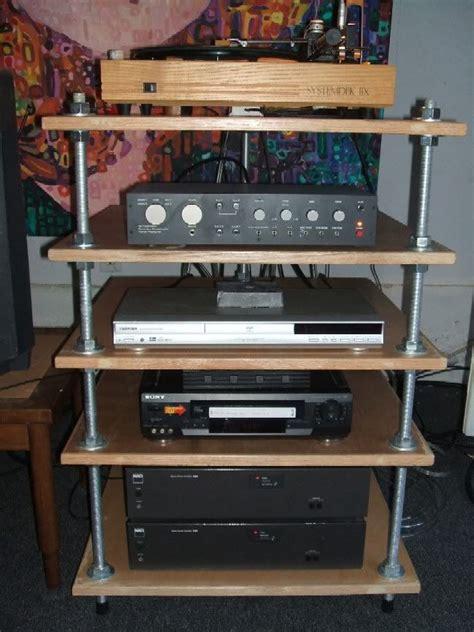 diy stereo rack    asked  fi racks